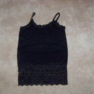 Expressions black camisole shape wear size L